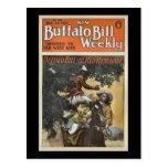 Buffalo Bill 1917 semanal - el renegado rojo Tarjeta Postal