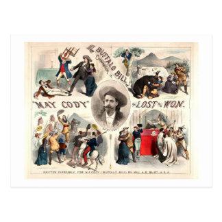 Buffalo Bill Adventures Postcard