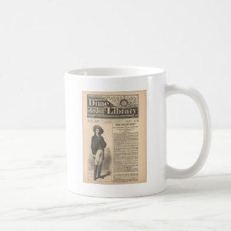 Buffalo Bill - Beadle's Half Dime Library 1879 Coffee Mug