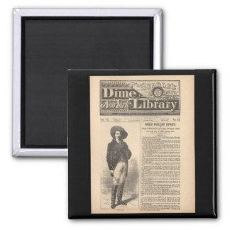 Buffalo Bill - Beadle's Half Dime Library 1879 Fridge Magnets