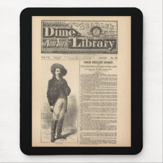Buffalo Bill - Beadle's Half Dime Library 1879 Mouse Pads