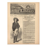 Buffalo Bill - Beadle's Half Dime Library 1879 Post Cards