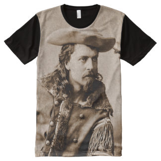 Buffalo Bill Cody - Circa 1880 All-Over Print Shirt