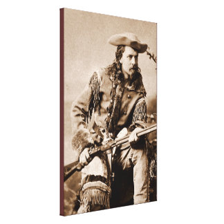 Buffalo Bill Cody - circa 1880 Impresión En Lona