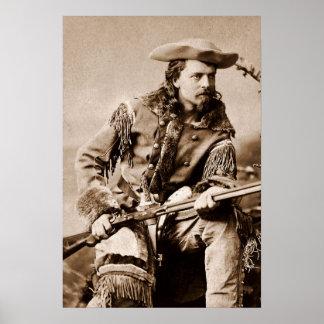 Buffalo Bill Cody - Circa 1880 Poster