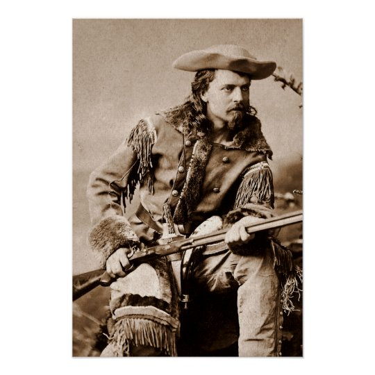 Buffalo Bill Cody - Circa 1880 Poster