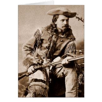 Buffalo Bill Cody - circa 1880 Tarjetón