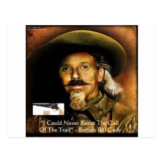 Buffalo Bill Cody His Gun & Quote Gifts & Cards