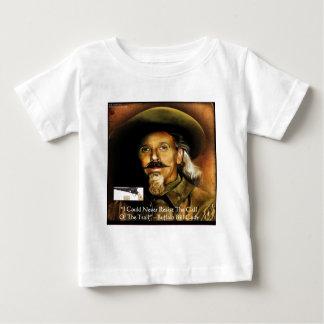Buffalo Bill Cody His Gun & Quote Gifts & Cards Baby T-Shirt