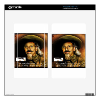 Buffalo Bill Cody His Gun & Quote Gifts & Cards Kindle Fire Decal