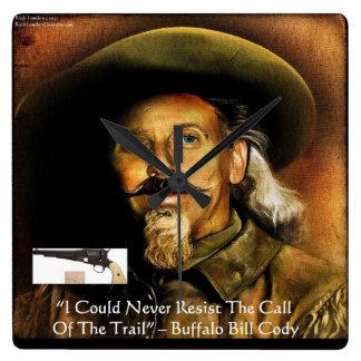 Buffalo Bill Cody su reloj del arma y de pared de