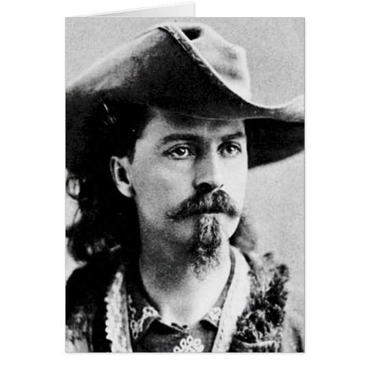 Buffalo Bill Cody Western Scout Wild West Showman Card