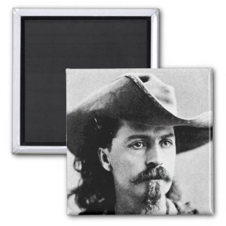 Buffalo Bill Cody Western Scout Wild West Showman Refrigerator Magnet