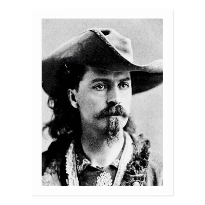 Buffalo Bill Cody Western Scout Wild West Showman Postcard