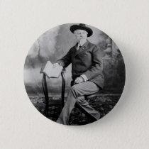 Buffalo Bill Cody Wild West Show Pinback Button