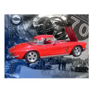 Buffalo Bill Corvette Show Poster Postcard