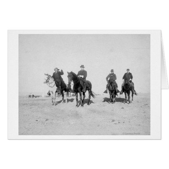 Buffalo Bill, General Miles, Captain Baldwin Card