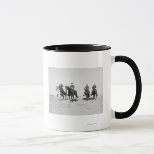 Buffalo Bill, General Miles, Captain Baldwin Mug