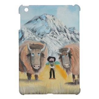 Buffalo Bill illustration wild west iPad Mini Cover