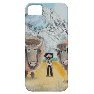 Buffalo Bill illustration wild west iPhone SE/5/5s Case