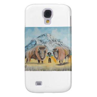 Buffalo Bill illustration wild west Samsung Galaxy S4 Cover