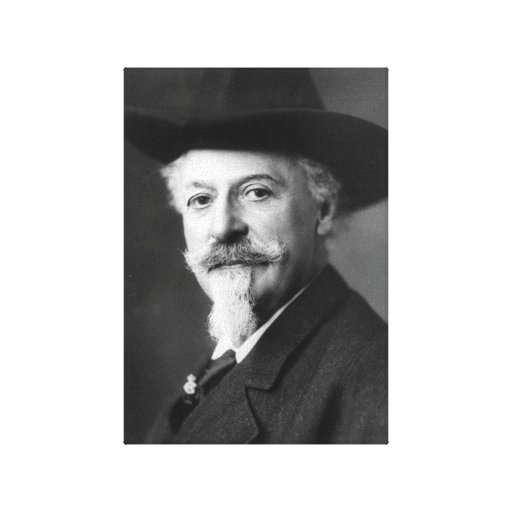 Buffalo Bill Impresión En Lona Estirada