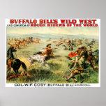 Buffalo Bill - impresión Impresiones