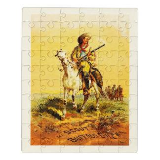 Buffalo bill jigsaw puzzle