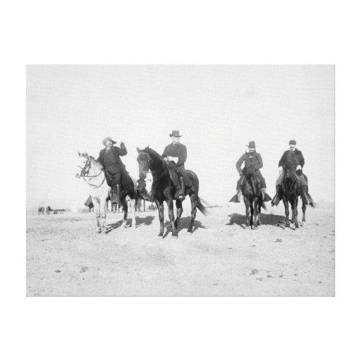 Buffalo Bill, millas generales, capitán Baldwin Lona Envuelta Para Galerias