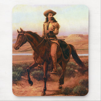 Buffalo Bill on Charlie Mouse Pad