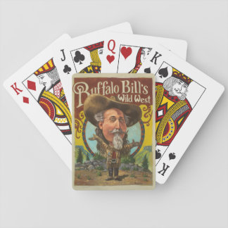 Buffalo Bill Playing Cards