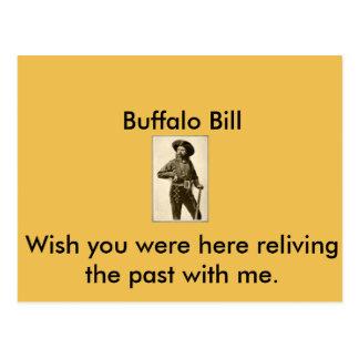 Buffalo Bill Postcard