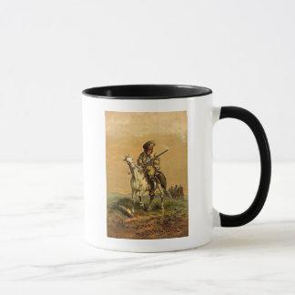 """Buffalo Bill """"The Scout"""" Vintage Advertisement Mug"""
