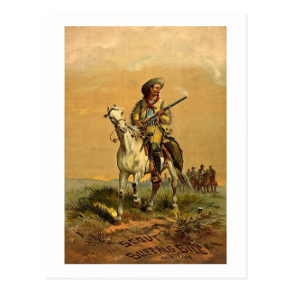 Buffalo Bill The Scout Vintage Advertisement Postcards