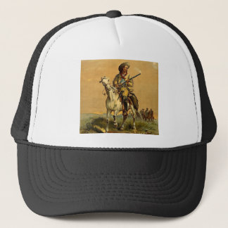 "Buffalo Bill ""The Scout"" Vintage Advertisement Trucker Hat"
