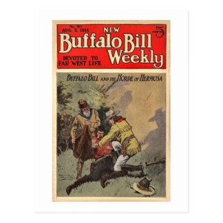 Buffalo Bill Weekly 12 - Vintage Postcard