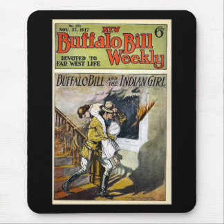 Buffalo Bill Weekly 1917 Devoted to Far West Life Mouse Pad