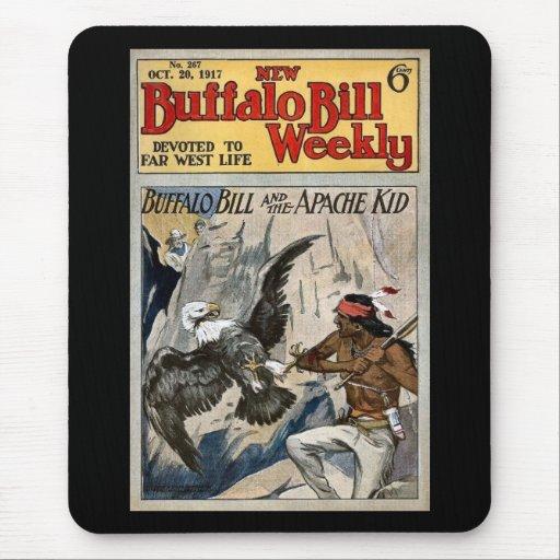 Buffalo Bill Weekly 1917 - The Apache Kid Mouse Pad