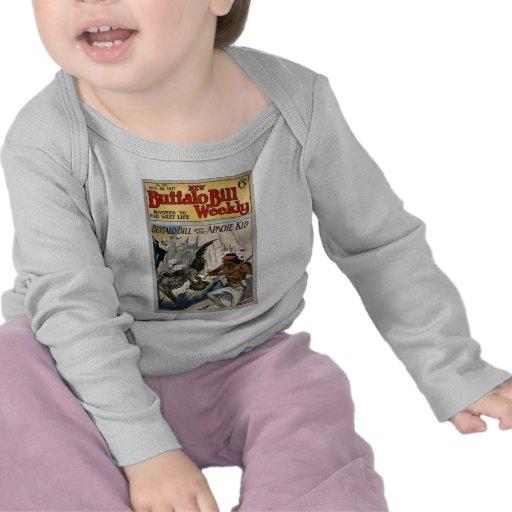 Buffalo Bill Weekly 1917 - The Apache Kid T Shirts