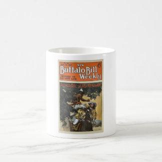 Buffalo Bill Weekly 1917 - The Red Renegade Coffee Mugs