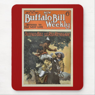 Buffalo Bill Weekly 3 - vintage Mouse Pad
