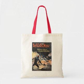 Buffalo Bill Weekly 6 - vintage Tote Bag
