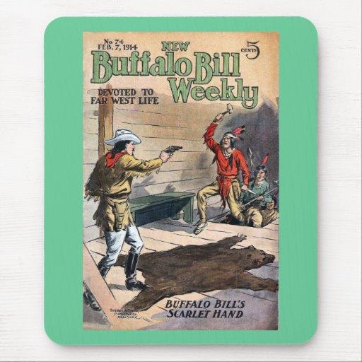 Buffalo Bill Weekly 8 - vintage Mouse Pad