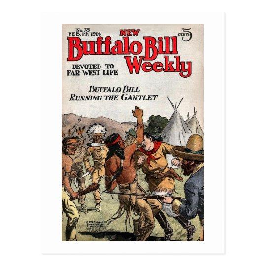 Buffalo Bill Weekly 9 Postcard