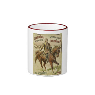 Buffalo Bill Wild West Daily Shows Ringer Coffee Mug