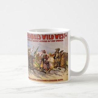 Buffalo Bill Wild West Show Classic White Coffee Mug