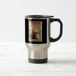Buffalo Bill Wild West Show Poster Apparel, Gifts Mug