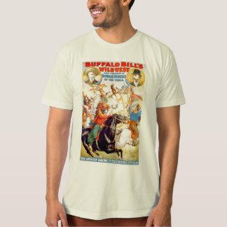 Buffalo Bill Wild West Show Poster Apparel, Gifts T-Shirt