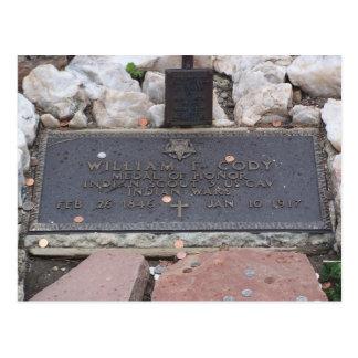 Buffalo Bill - William Cody Grave Postcard