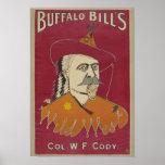 Buffalo Bill's Colonel W. F. Cody Poster